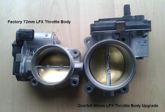 80mm Throttle Body for the LFX - Camaro5 Chevy Camaro Forum